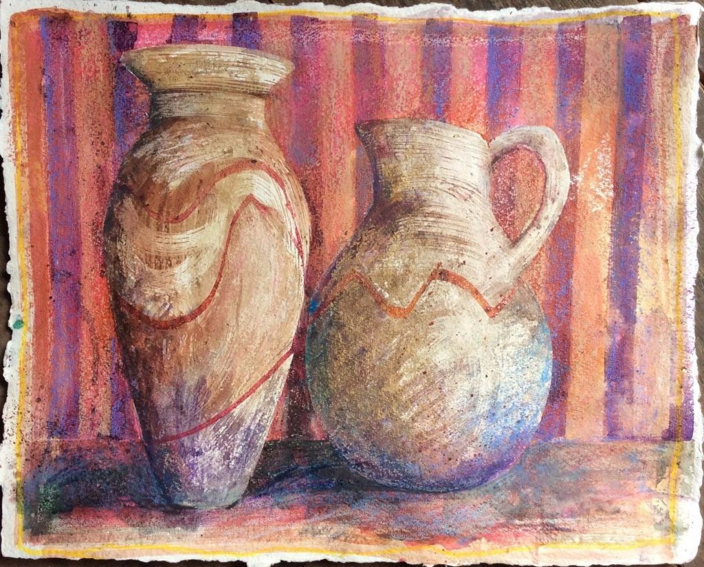 Still Life with Pot and Jug SOLD