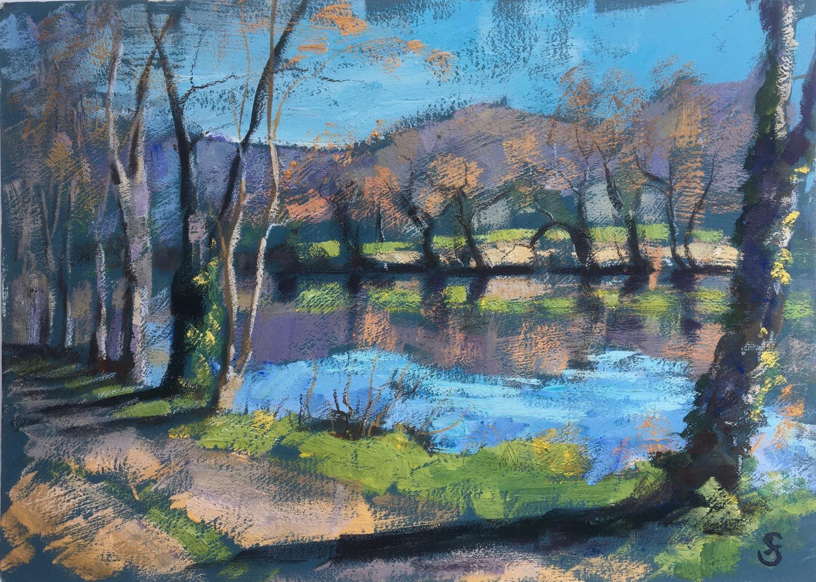 River Lot Spring 30x22cm SOLD